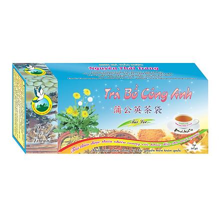 Trà Bồ Công Anh Giúp (Hộp 50 Túi Lọc X 2g)- Nguyên Thái Trang – Thảo Dược Thiên Nhiên – Tốt Cho Sức Khỏe