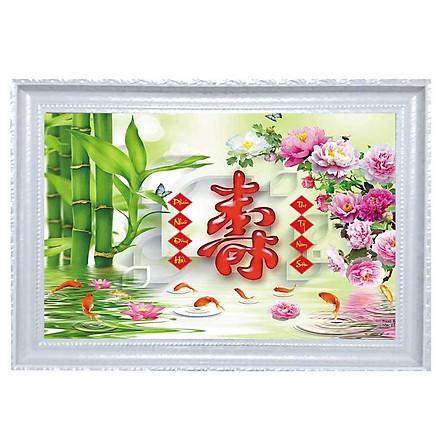 Tranh Chữ Thọ - Tôn Đản HP (50 x 70cm)