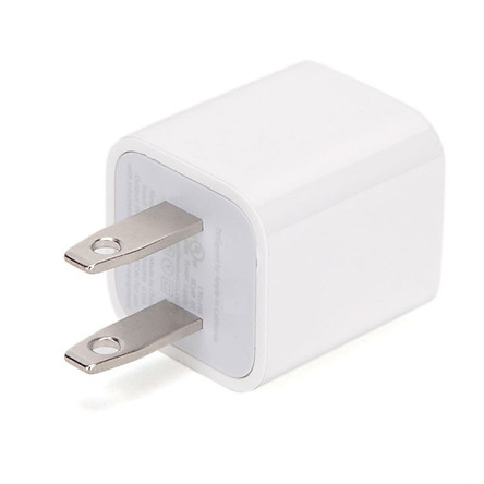 Củ sạc nhanh củ sạc 2A 2.1 dùng cho điện thoai, máy tính bảng iPhone, iPad Trắng