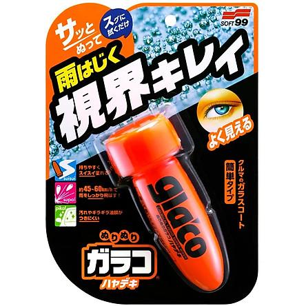 Chai Phủ Nano Kính Ô Tô Glaco Roll On Instant Dry G-97 SOFT99 | Japan (New)
