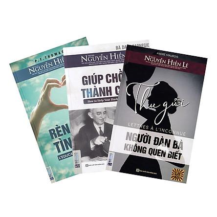 Combo Giúp Chồng Thành Công - Tủ Sách Nguyễn Hiến Lê(Tặng kèm Booksmark)
