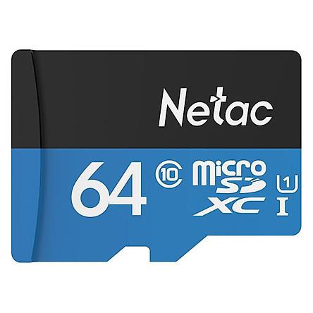 Thẻ Nhớ Micro SD Netac U3 Class 10 64GB – Hàng Chính Hãng