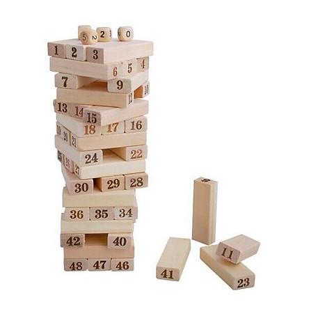Bộ trò chơi rút gỗ WOOD TOYS (loại lớn)
