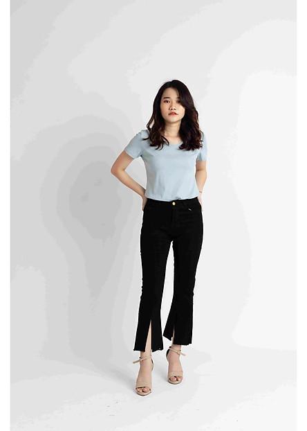 Quần jean skinny đen 243D