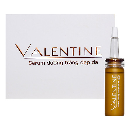 Serum Dưỡng Trắng Và Đẹp Da Valentine Sao Thái Dương (10ml)