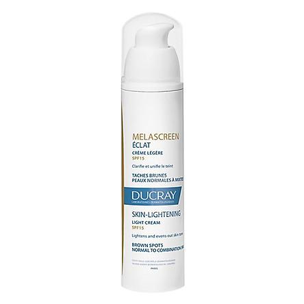 Kem Dưỡng Sáng Da Ducray Melascreen Eclat Light Cream Skin Lightening Spf15 (40ml)