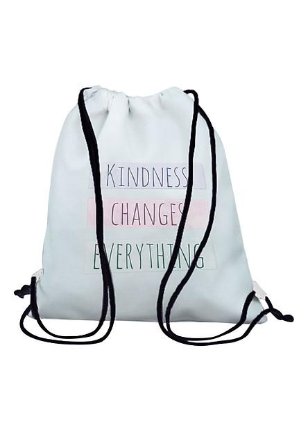 Túi Rút Unisex In Hình Kindness Changes Everything BDHK079