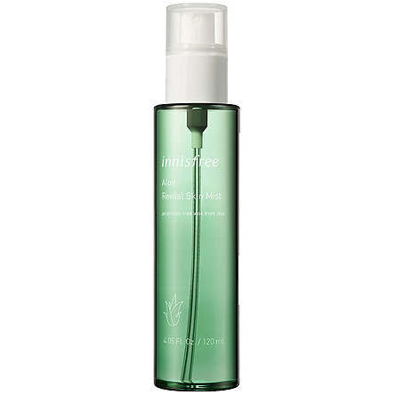 Xịt Khoáng Dưỡng Ẩm, Dịu Da Từ Nha Đam Innisfree Aloe Revital Skin Mist 120ml - 131170175