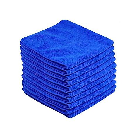 Combo 10 khăn mềm lau dọn (30 x 30 cm) + kèm 1 set 3 móc dán hình ô
