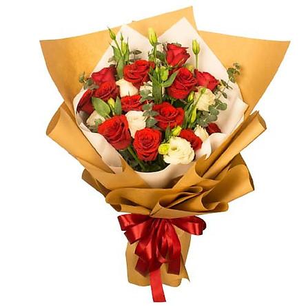 Bó hoa tươi - Bí Mật Yêu Thương 3925