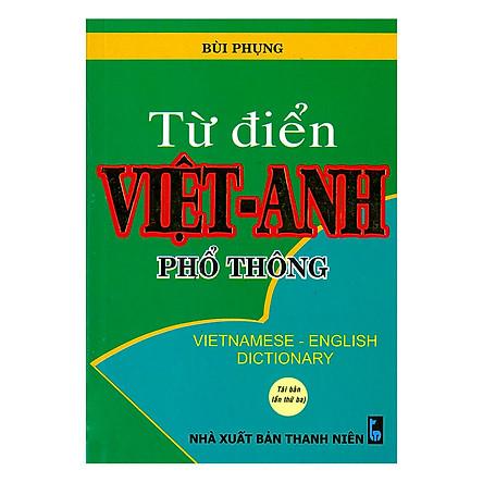 Từ Điển Việt - Anh Phổ Thông