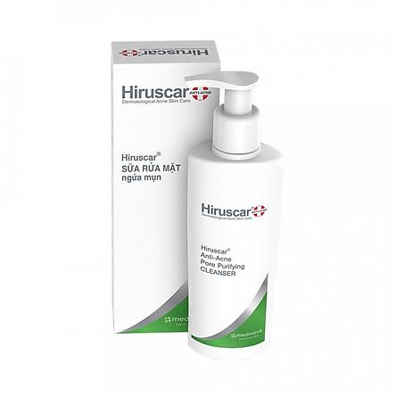 Sữa rửa mặt ngăn ngừa mụn Hiruscar Anti-Acne Pore Purifying Cleanser 100ml ( made in Thai Lan )