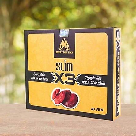 Thực Phẩm Bảo Vệ Sức Khỏe SLIM X3 ( mẫu mới nhất )  NANA COSMETICS hỗ trợ Giảm Cân  Đông Y Mộc Linh X3