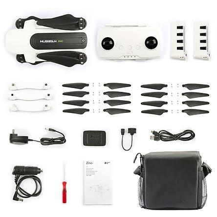 Combo  Flycam Hubsan Zino portable - Hàng Nhập Khẩu
