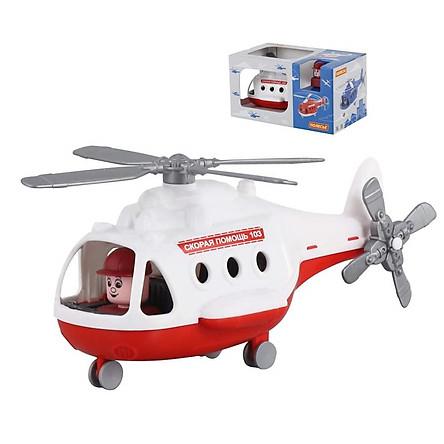 Máy bay trực thăng cứu thương Alphađồ chơi - Polesie Toys
