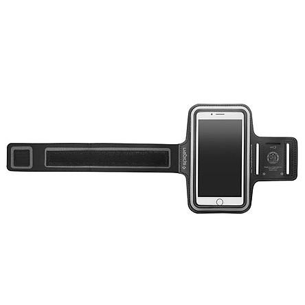 Vòng Đeo Tay Thể Thao Spigen Velo A700 Sports Armband 6 Inch (Đen) - Hàng Chính Hãng