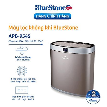 Máy Lọc Không Khí BlueStone APB-9545 (Diện tích sử dung 35m2 - 60W) - Hàng Chính Hãng