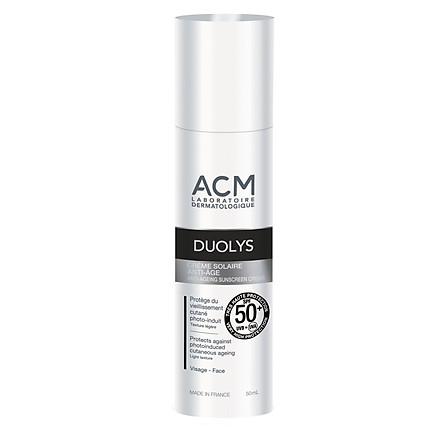 Kem chống nắng dưỡng da trắng sáng và giảm nếp nhăn Duolys Anti-Ageing Sunscreen SPF 50+ 50ml