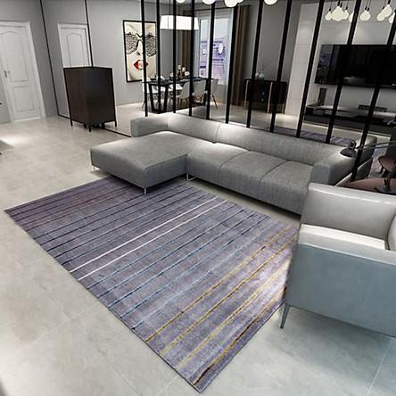 Thảm Trang Trí Phòng Khách Và Sofa Lông Ngắn ME007 - Metric