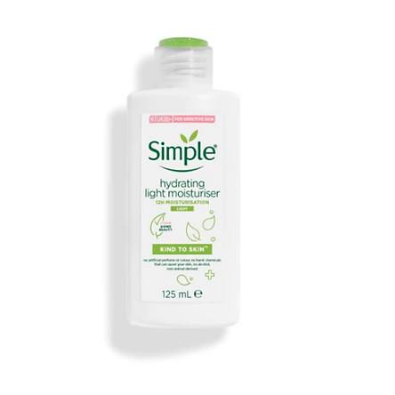 (Package mới) Kem dưỡng Simple Kind To Skin Hydrating Light Moisturizer - Thường 125ml