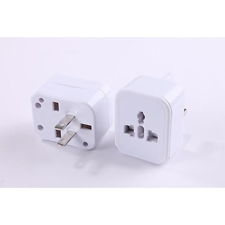 Ổ cắm điện du lịch đa năng quốc tế VD993 ( Tặng kèm 02 nút kẹp cao su giữ dây điện )