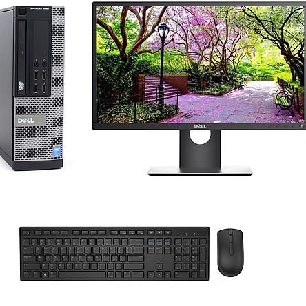 BỘ Máy Tính Đồng Bộ Dell CORE I5-4570/RAM 8GB /SSD 120GB/HDD 500GB và Màn hình Dell 21.5 inch / BÀN PHÍM CHUỘT DELL/BAN DI CHUỘT /USB WIFI - Hàng Nhập Khẩu