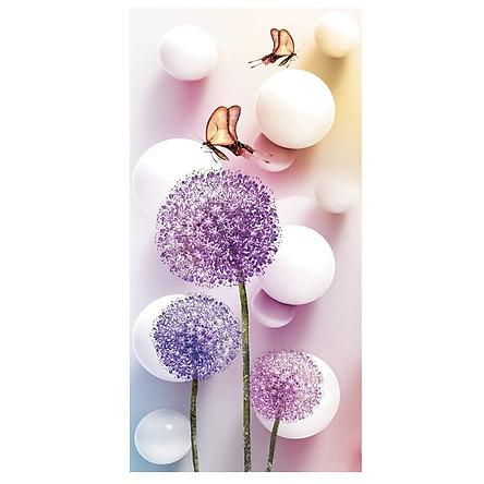 Bộ kit đầy đủ phụ kiện tự làm tranh đính đá hoa bồng công anh sang trọng trang trí phòng khách, văn phòng công ty, quà tặng ý nghĩa