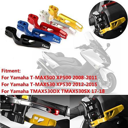 For Yamaha TMAX500 TMAX530 CNC Motorcycle Aluminum Parking Hand Brake Lever Shutdown Handle