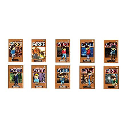 Combo Thám Tử Lừng Danh Conan Tập 81 - 90 (Bộ 10 cuốn)