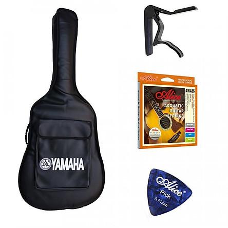Combo bao đàn guitar +Capo+Dây đàn+Pick gảy(SOL.G)