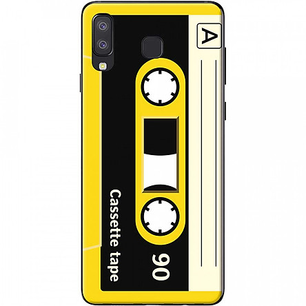Ốp lưng dành cho Samsung Galaxy A8 Star mẫu Cassette vàng