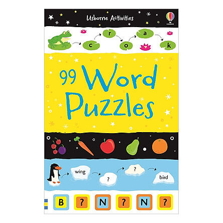 Usborne 99 Word Puzzles