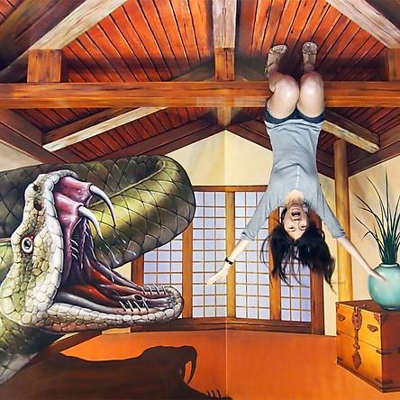 Vé Bảo Tàng Tranh 3D Trick Eye Museum Phuket