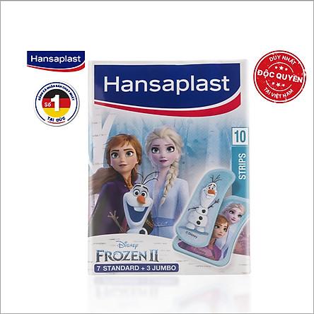Băng cá nhân Hansaplast Disney Frozen II gói 10 miếng