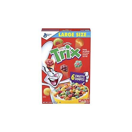 Bánh ngũ cốc ăn sáng mix nhiều màu GENERAL MILLS TRIX của Mỹ 394g