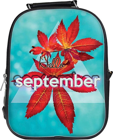 Balo Unisex In Hình Hello September - BLTE043