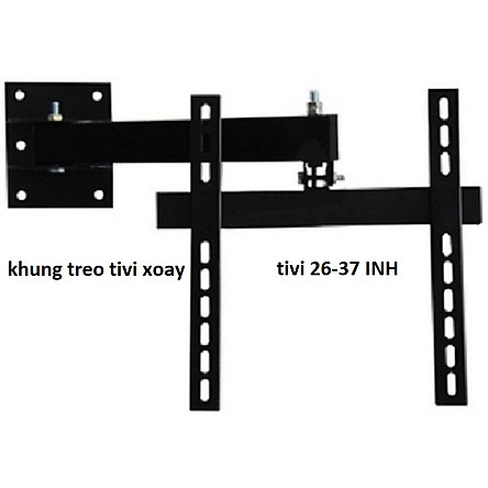 khung treo tivi xoay 26 inch đến 37 inch