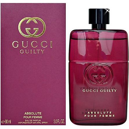 Nước Hoa Nữ Gucci Guilty absolute pour femme 90ml Full