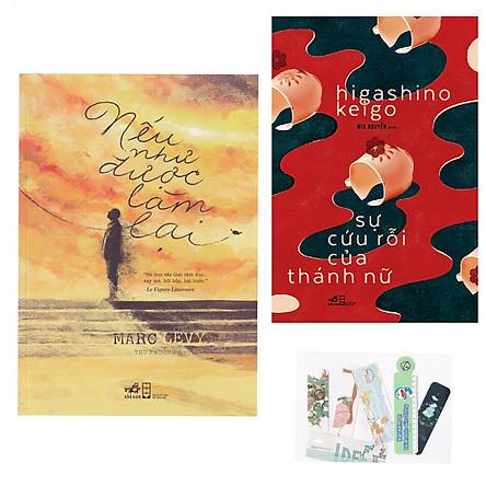 Combo 2 Cuốn: Nếu Như Được Làm Lại + Sự Cứu Rỗi Của Thánh Nữ - Tặng Kèm Bookmark AHA