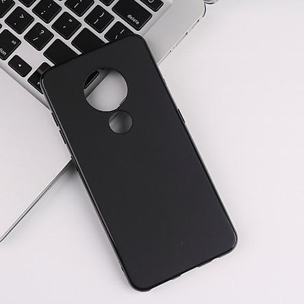 Ốp Lưng Dẻo Đen Cho Nokia 7.2