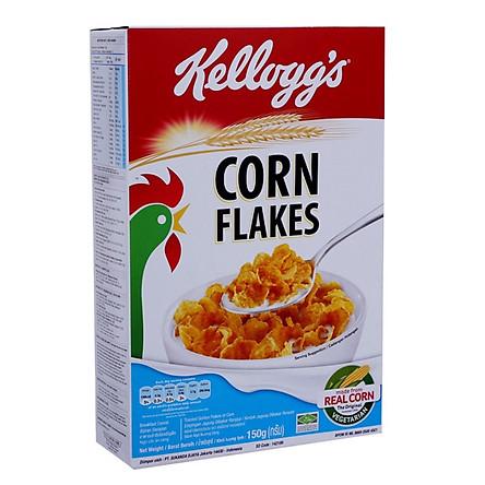"""[Chỉ Giao HCM] - Thức ăn ngũ cốc Kellogg""""s Corn Flakes - hộp 150gr"""