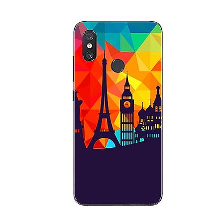 Ốp Lưng Dẻo Cho Điện Thoại Xiaomi Mi 8 - Travelling