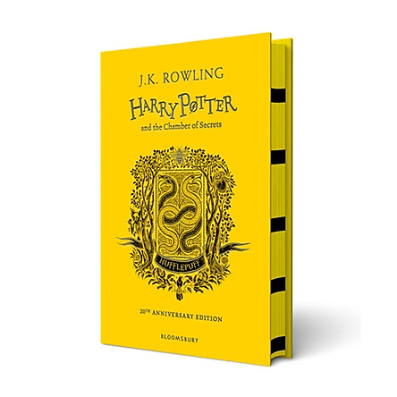 Harry Potter Part 2: Harry Potter And The Chamber Of Secrets (Hardback) Hufflepuff Edition (Harry Potter và Phòng chứa bí mật) (English Book)