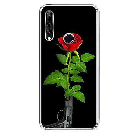 Ốp lưng dẻo cho điện thoại Huawei Y9 Prime 2019 - 0193 ROSE07 - Hàng Chính Hãng