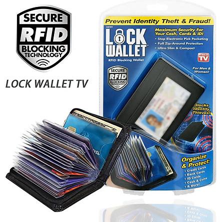 Ví Đựng Thẻ RFID Cầm Tay (36 Khe Thẻ)
