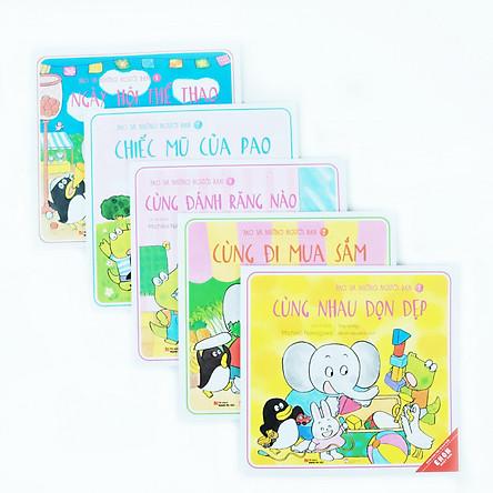 Combo 5 cuốn Ehon Pao và những người bạn