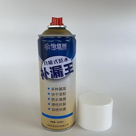 Bình sơn xịt chống thấm đa năng ( Chống thấm nước, chống dột mái nhà, ống nước, sàn nhà,... ) 450ml cao cấp