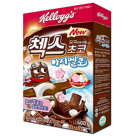 KELLOGGS Checks Choco Marshmallow Cereal 400g