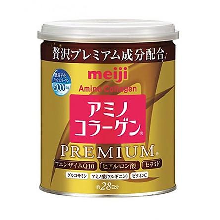 Bột Amino Collagen Meiji Premium - Lon 200g