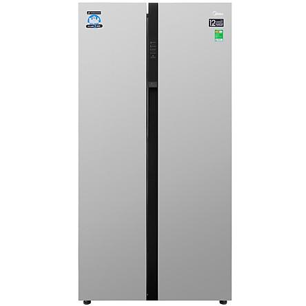 Tủ lạnh Inverter 530L Midea MRC-690SS - Hàng Chính Hãng